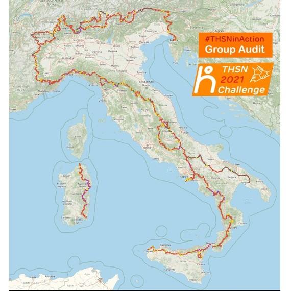 UN INCONTAMINATO SENTIERO PER L'ITALIA – GROUP AUDIT