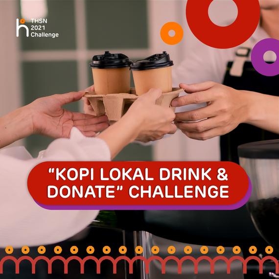 Minum Kopi Lokal & Donasi sekarang!
