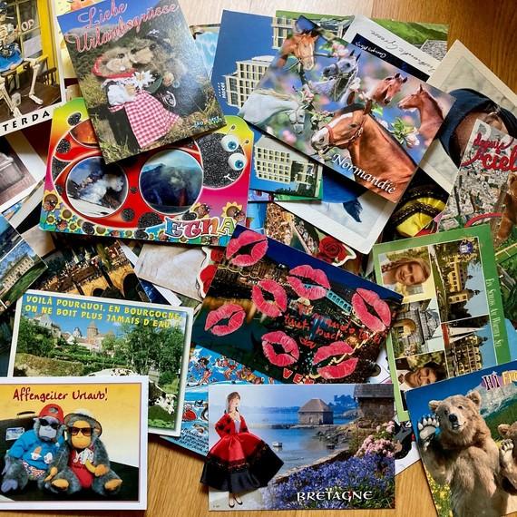 Meine Challenge: Die Suche nach der hässlichsten Ansichtskarte!