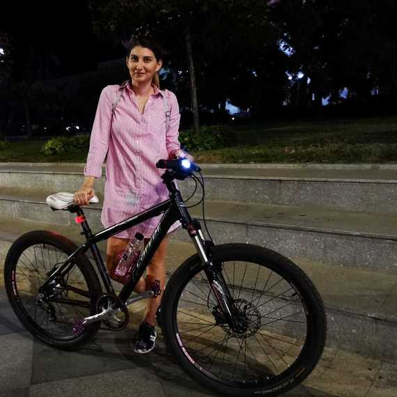 450 de km pe bicicleta pentru copilarie