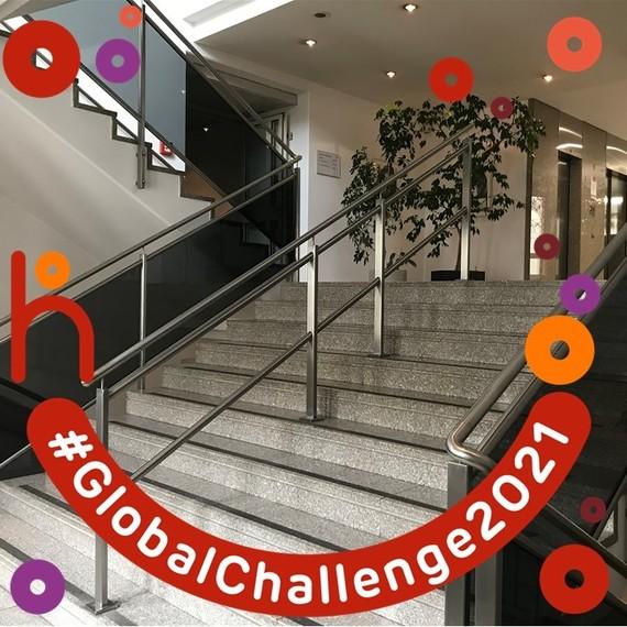 Stiegen-Challenge für einen guten Zweck