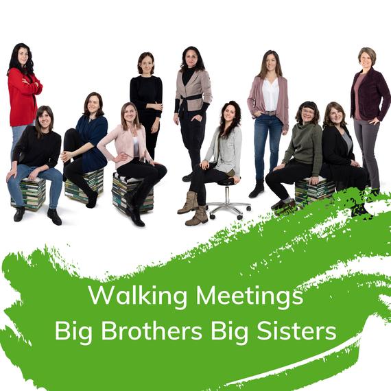 Walking Meetings Big Brothers Big Sisters Österreich